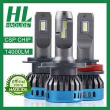 /HL Mini Size CSP Chip H7 H1 LED Ice Lampen voor Auto Koplampen H11 LED H4 H8 Mistlamp HB3 9005 HB4 9006 6000K Auto Running Lights(China)