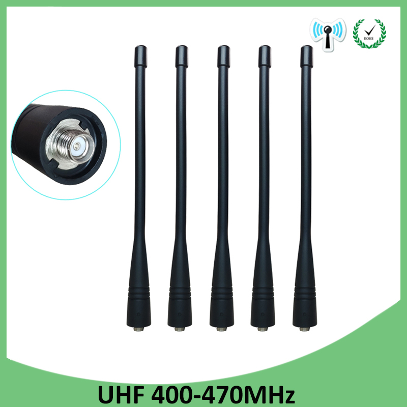 Car Antenna Talkies For Motorola One For E398 G6 Razr V3i E5 P30 Sma Uhf Walkie Talkie Tactical For Baofeng 5r Vhf Dmr 430mhz