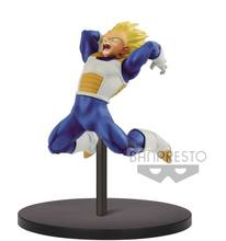 Original banpresto super saiyan vegeta figura chosenshiretsuden brinquedos dragon ball dragonball super brinquedo(China)