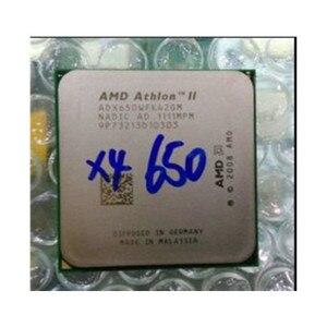AMD Athlon II X4 650 3.2 GHz Duad-Core CPU Processor X4-650 ADX650WFK42GM Socket AM3