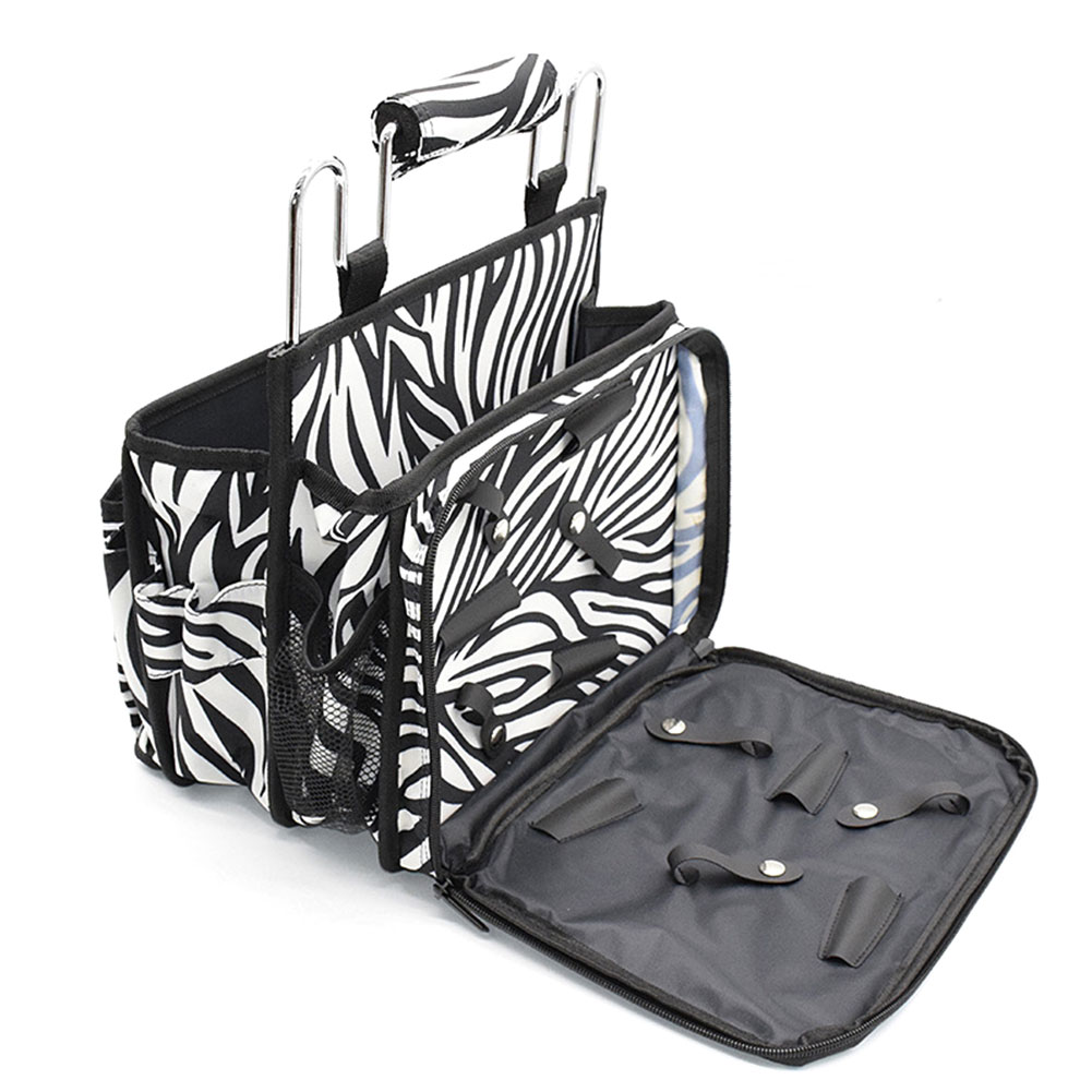 Professional Salon Hair Scissors Holder Hairdressing Bag Shears Combs Accessories Travel Portable Pouch Cosmetic Organizer