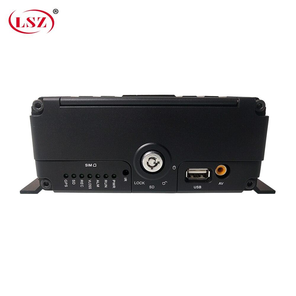 LSZ  Source Factory Sd + Hard Disk Monitoring Host Ahd1080p 2 Million Pixels 4g Gps Wifi Mdvr School Bus / Excavator / Harvester