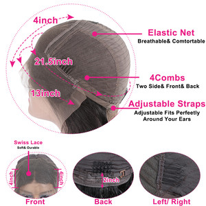Image 5 - 30 Inch עמוק גל 13x4 תחרה מול שיער טבעי פאות 4x4 סגירת פאה מראש קטף ברזילאי שיער טבעי פאה לנשים זול סיטונאי