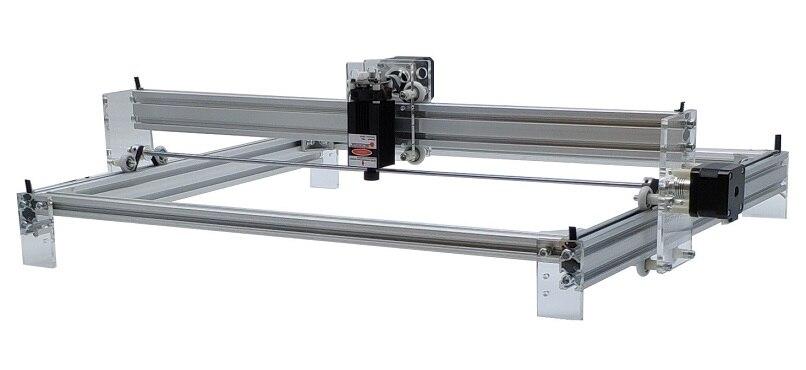 2 axis laser machine Desktop DIY big Laser Engraving Machine Picture CNC Printer - 4