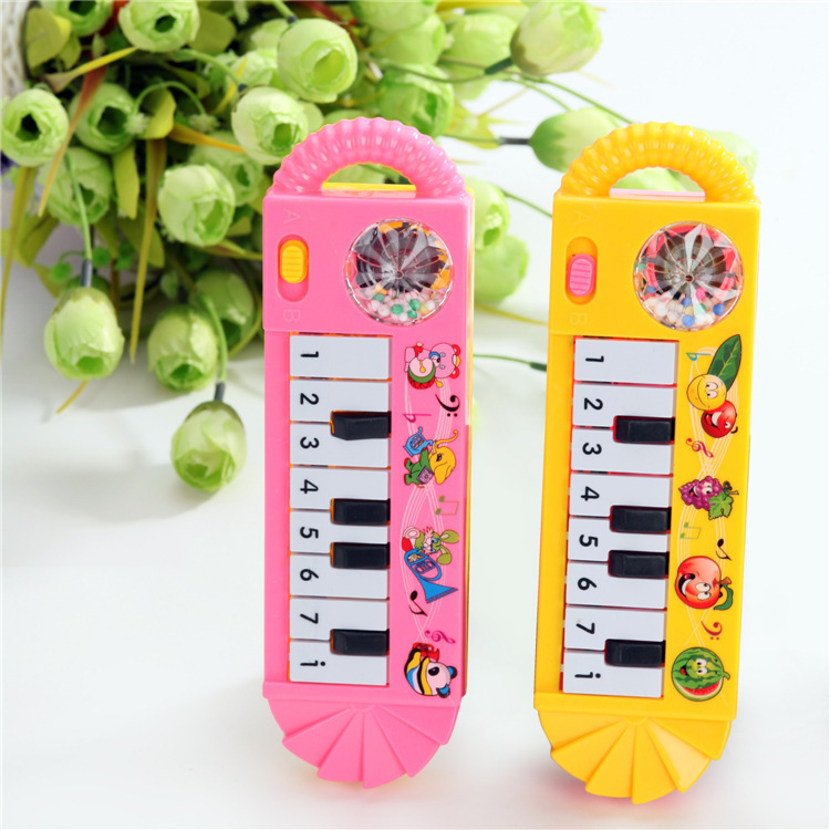 1PCS Color Random Baby Kids Musical Piano Early Educational Toy Infant Toddler Developmental Toy