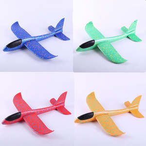 Flying Glider Planes-Toys Model-Airplanes Aircraft Hand-Throw Foam Outdoor Game Children