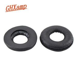 GHXAMP 70mm Ear Pads for Headphones Replacement for Sony MDR-V150 V250 V300 V100 V200 V400 ZX100 ZX300 Headsets 2pcs