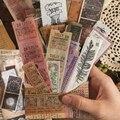40 teile/beutel Vintage Antike bücher Mond phase blume washi papier aufkleber dekoration aufkleber DIY tagebuch scrapbooking label aufkleber
