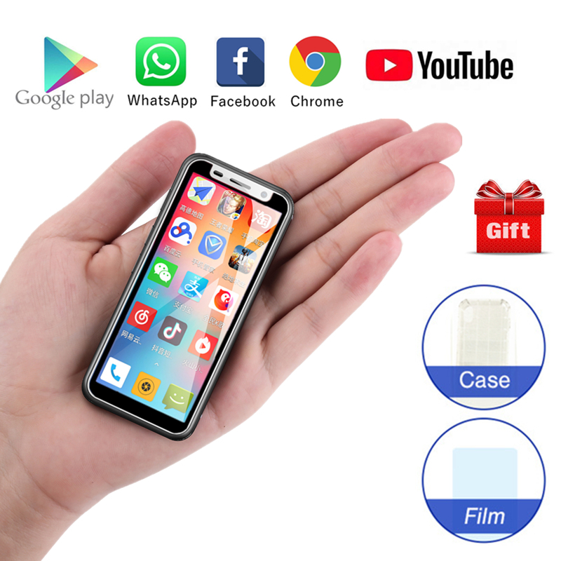 melrose 2019 Super Mini Smartphone Ultra Slim 3 4Inch MTK6739V 1GB 8GB Android 8 1 Fingerprint