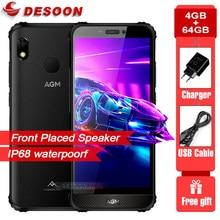 AGM Globale Version A10 IP68 Wasserdichte Robuste Telefon 4GB RAM 64GB ROM Android™9 4G LTE 5.7