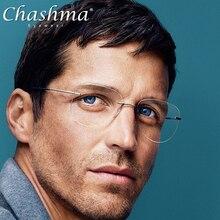 티타늄 전환 항공 선글라스 Photochromic Reading Glasses diop터가있는 무테 안경 남성