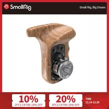 SmallRig Left Side Wooden Handgrip with Arri Rosette Bolt On Mount For Universal DSLR Camera Wooden Handle 1891