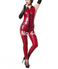 Personalizzare In Lattice di Gomma Sexy Costumi Senza Maniche Catsuit del Lattice di Halloween Cosplay costume di Lattice Zentai Usura(China)