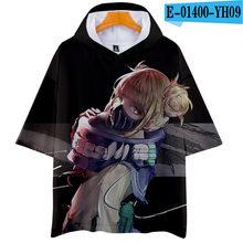 My Hero Academia 3D hoodies Short Sleeve T Shirt Women Men Izuku Midoriya Shouto Todoroki GraphicTees Cosplay boy/girls tops