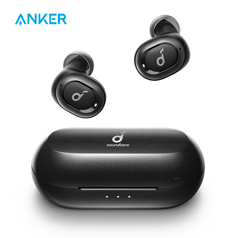 True wireless earphones anker soundcore liberty neo tws with bluetooth 5.0, sports sweatproof, and noise isolation,2019 upgraded
