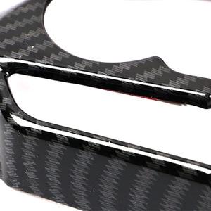 Image 5 - JEAZEA 3 Sợi Carbon ABS Bọc Vô Lăng Khung Viền Trang Trí Phù Hợp Cho Xe Toyota RAV4 2019 2020 LHD Xe Ô Tô phụ kiện