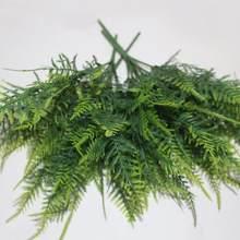 7 hastes artificial aspargos samambaia grama de alta qualidade arbusto flor escritório em casa verde plástico planta decorativa para escritório em casa quente