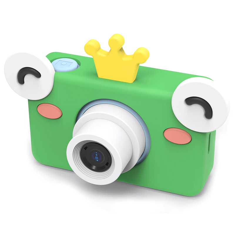 Kids Toys Children Digital Camera Memory Card Included Cartoon Animals Educational Toys For Children Birthday Gift