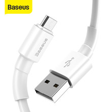 Baseus – câble USB 2,4 a pour recharge rapide et données (Micro), cordon de chargeur pour appareils Huawei, Xiaomi, Samsung