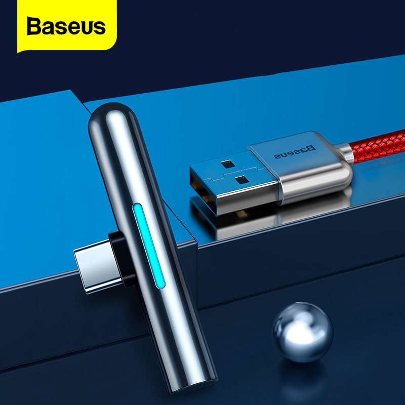 Baseus USB Type C Cable 40W Lighting cable For Huawei Mate 30 20 P30 P20 Pro Lite 4A Dash Charger USBC TypeC USB Cable Wire Cord Mobile Phone Cables    - AliExpress