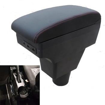 Para LADA XRAY reposabrazos caja universal compartimento central para coche accesorios de modificación de doble criado con USB