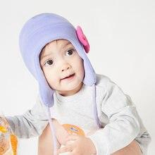 Шапка и перчатки для девочек зимняя шапка ушанка детская флисовая