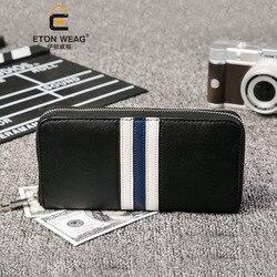 Bolsa nueva cartera de color para hombre cartera larga multi-Tarjeta cartera lykj-yx