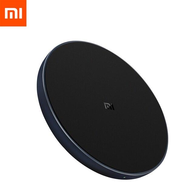 Xiaomi Sạc Không Dây Qi Thông Minh Sạc Nhanh Sạc Nhanh 7.5W Cho Mi Mix 2S 3 Dành Cho iPhone X XR XS 8 Plus 10W Cho Sumsung S9