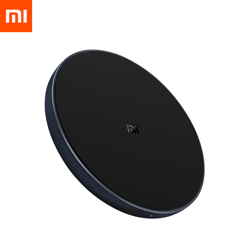 Xiaomi Wireless Charger Qi Smart Quick Charge Fast Charger 7.5W for Mi MIX 2S 3 For iPhone X XR XS 8 plus 10W For Sumsung S9(China)