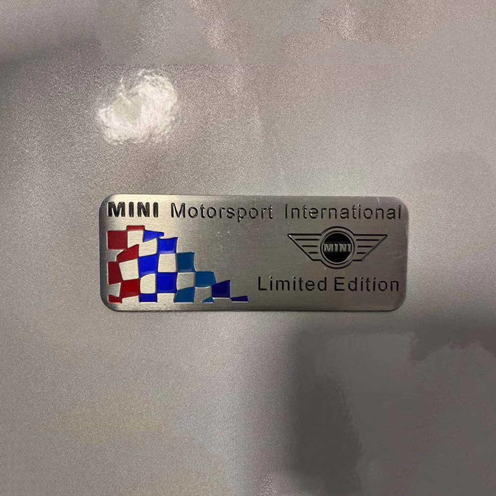 Logam Stiker Union Jack Sticker Decals Jendela Dekorasi untuk MINI COOPER SATU Countryman F55 F56 R55 R56 R60 F60 mobil Styling