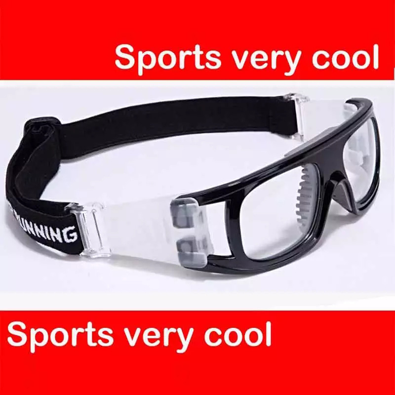 Rx Eyewear Frames Sports Protection Glasses Frame Basketball Football Goggle For Adult Can Put Prescription Lens