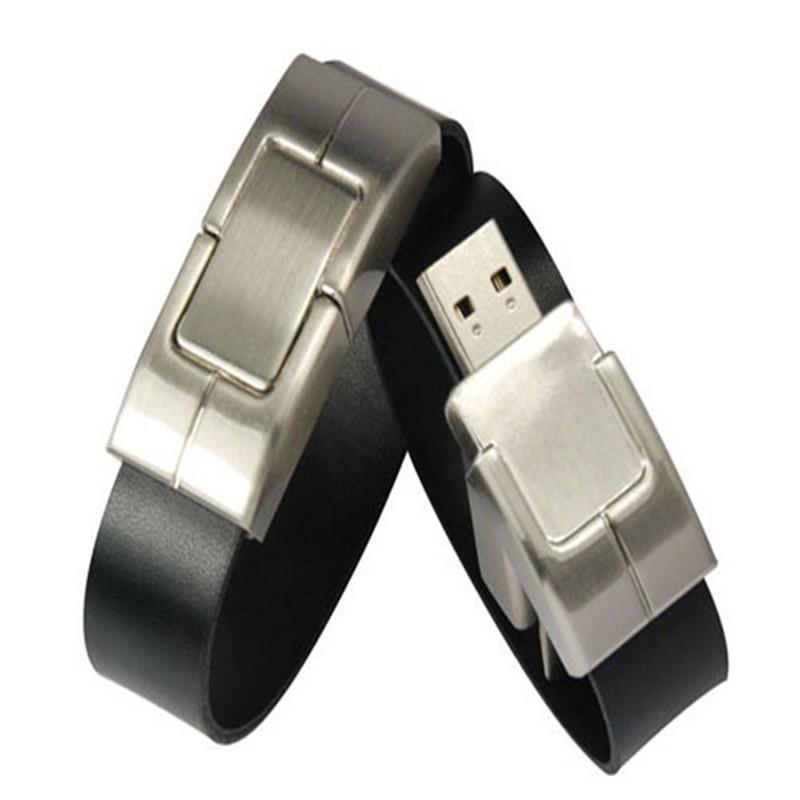 Высокое качество! USB флэш-накопитель на запястье, 64 ГБ, 32 ГБ, 16 ГБ, 8 ГБ, 4 Гб, 2 Гб, USB, 2,0 кожа, U диск, карта памяти, флешка