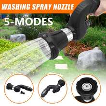 Mighty Power Hose for Blaster Fireman Nozzle Lawn Garden Super Powerful Home Car Washing by BulbHead Wash Water Your Lawn(China)