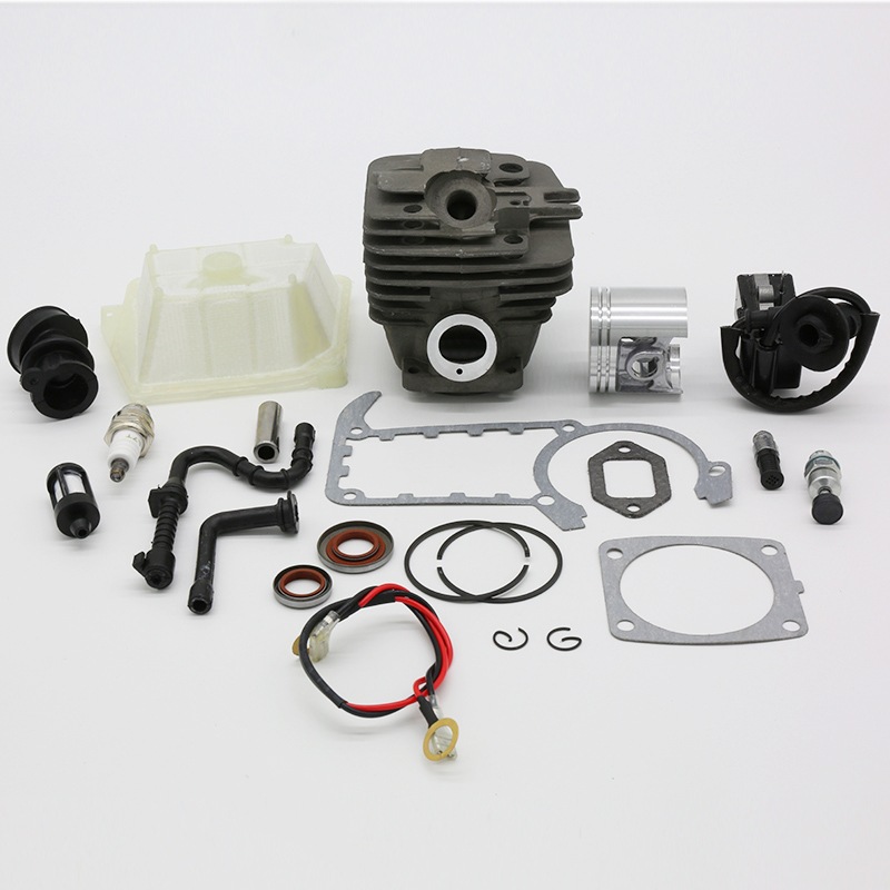 47MM Cylinder Piston Ignition Coil Spark Plug Gasket Kit Fit For STIHL MS361 MS 361 Chainsaw Spare Parts
