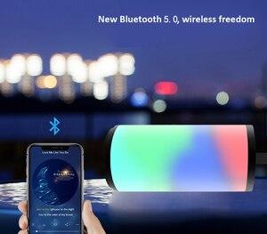 Image 5 - TG169 Bluetooth haut parleur Portable extérieur haut parleur sans fil colonne 3D stéréo musique Surround avec FM étanche lampe de poche LED