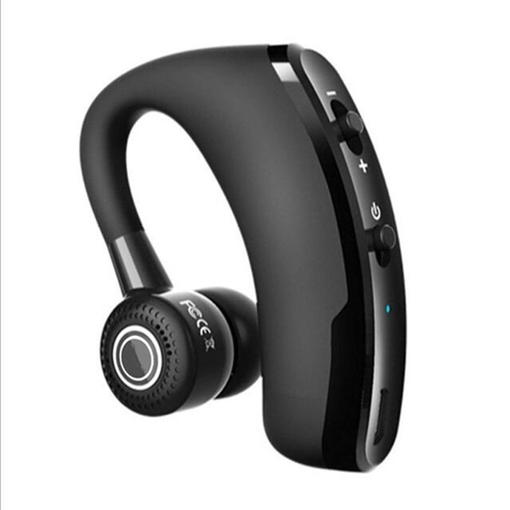 V9 Business Hanging Ear Stereo Caller ID Noise Reduction Wireless Portable Listening Song Headphones image