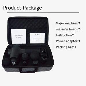 Image 5 - Pistola de masaje eléctrica ajustable para la espalda del cuello rodillo masajeador de músculo máquina anti celulitis adelgazamiento masajeador corporal