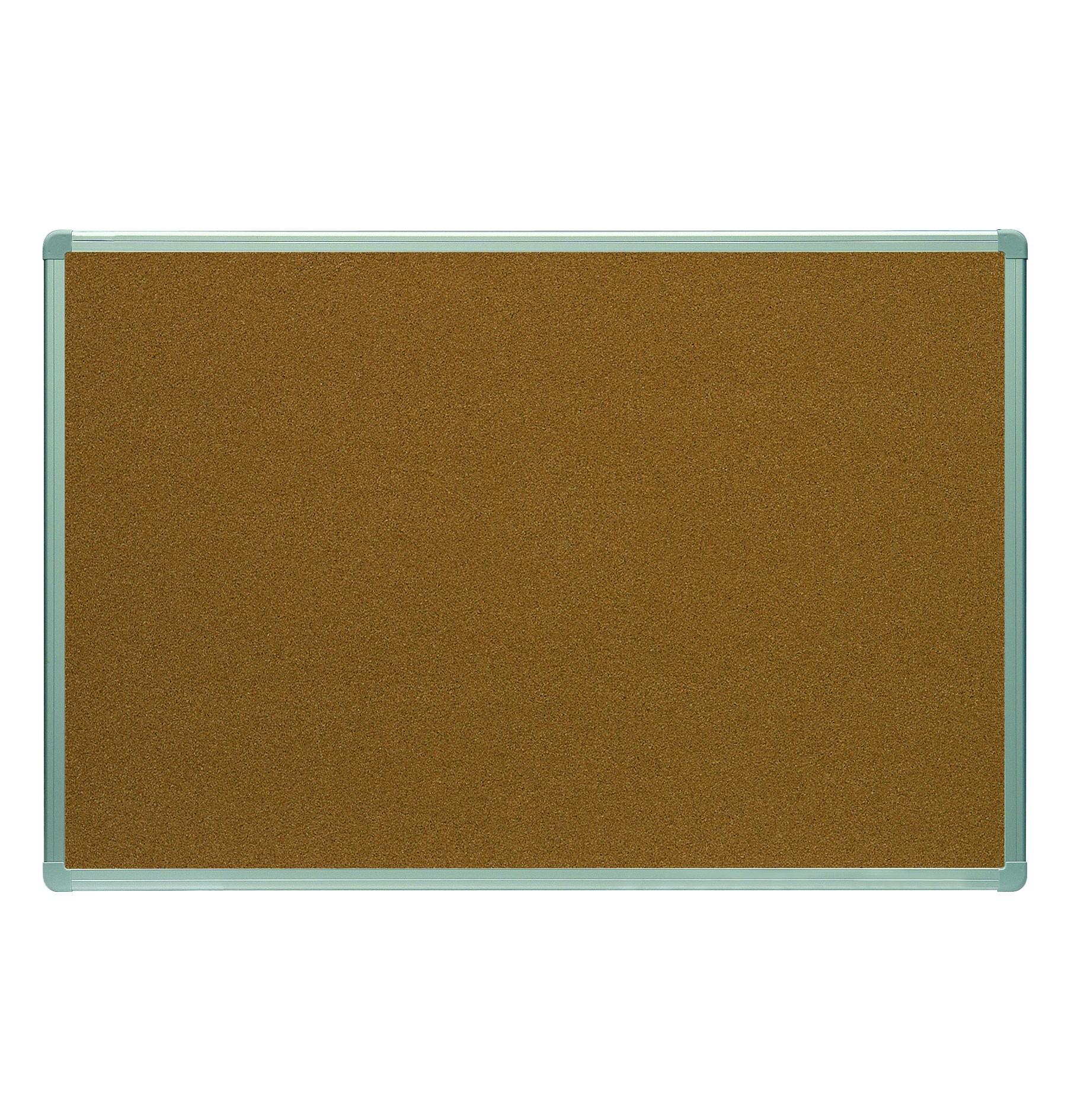 CORK BOARD 120x180cm PROFILE ALUMINUM