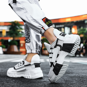 Image 3 - Chunky scarpe Da Tennis di Sport Casual Scarpe Hip Hop Streetwear Spessore Degli Uomini di Fondo Giallo INS Runningg Scarpe Cestino Tenis Masculino Adulto