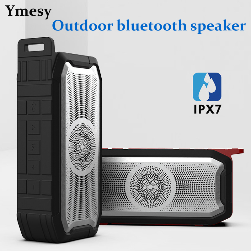 Ymesy Bluetooth Speaker Portable Bass Subwoofer Outdoor Waterproof Speakers Fm Radio AUX TF USB Music Boombox caixa de som