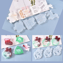 Jewelry-Tools Uv-Resin-Mold Silicone Accessoires Christmas-Tree Deer-Shaped Love Hope