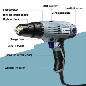 Image 4 - WORKPRO 3.6V USB Cordless Electric Screwdriver Household Power Screwdriver Rechargeable Li ion Screwdriver