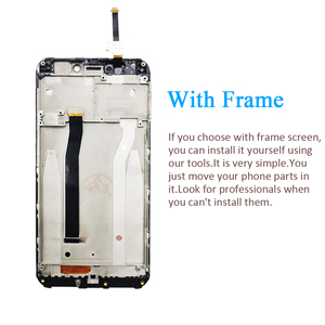 Image 3 - PINZHENG Phone LCD For Xiaomi Redmi 4X LCD Display Screen For Xiaomi Redmi 4x Display Frame Replacement Digitizer Assembly