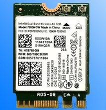 SSEA для Intel Wireless-AC 7265 7265NGW 802.11ac WiFi Bluetooth 4,0 NGFF карта для Lenovo X250 T450 T550 W450 L450 E450 04X6030