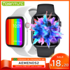 for IWO W46 and W26 Smartwatch IWO 12 Pro 13 1.75 Inch 320*385 Smart Watch Men Women DIY Watch Face Wireless Charger Thermometer 1