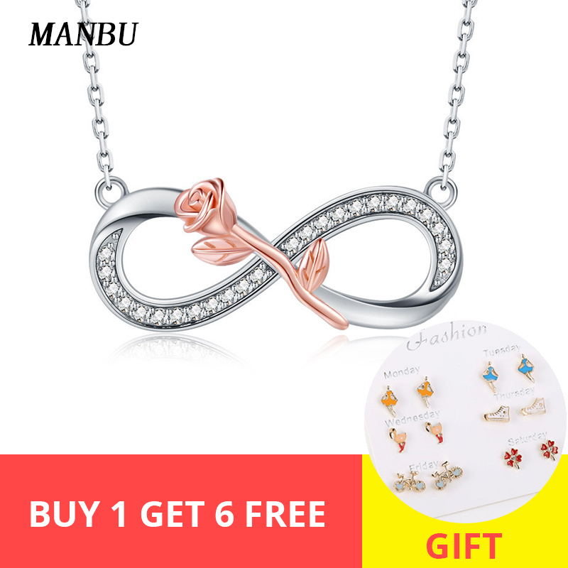 925 Sterling Silver Infinity Symbol Pendant for Chain Necklace  Jewellery