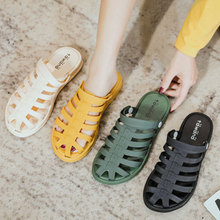 Women Sandals Shoes Woman 2020 Slip on Hollow Flat