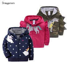 Orangemom spring Children Coat Hooded Jacket For Baby Girl b