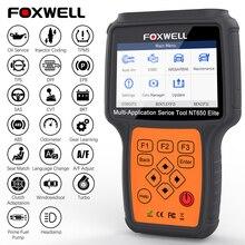 Foxwell NT650 Elite OBD2 lecteur de Code Scanner moteur ABS Airbag EPB huile TPMS 20 réinitialiser ODB2 outil de Diagnostic OBD automobile Scanner