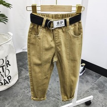 Kid Pants Clothing Boys 14-Years Letters Teenage Autumn Winter Casual for Cargo 12 8